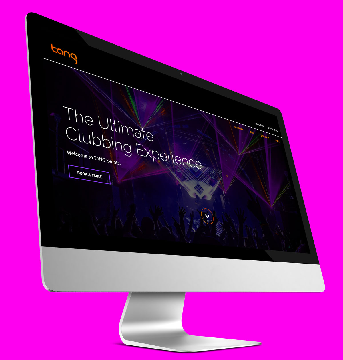 Tang Events Website - East Digital Sydney